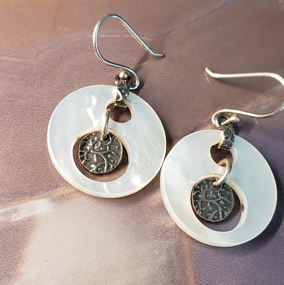 57b870379 Silpada Jewelry | Mother Of Pearl Earrings | Poshmark
